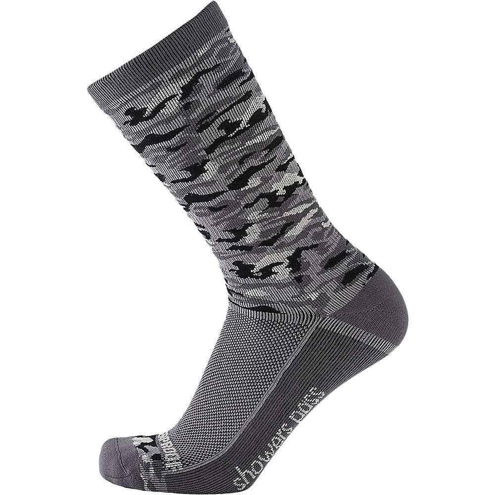 シャワーズ パス Showers Pass メンズ ハイキング・登山【Crosspoint Camo Lightweight WP Sock】Grey