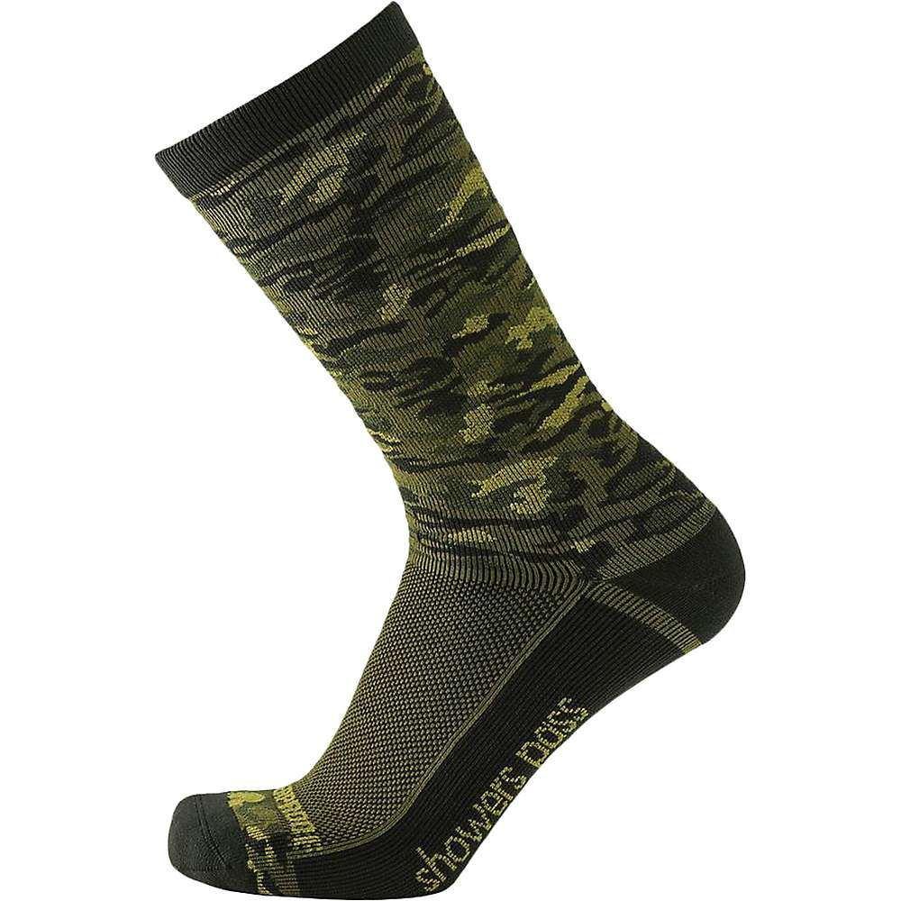 シャワーズ パス Showers Pass メンズ ハイキング・登山【Crosspoint Camo Lightweight WP Sock】Forest