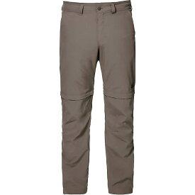 ジャックウルフスキン Jack Wolfskin メンズ ハイキング・登山 ボトムス・パンツ【Canyon Zip Off Pant】Siltstone