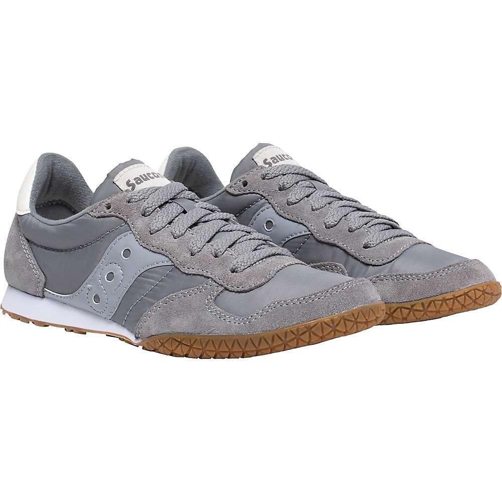 サッカニー Saucony レディース ランニング・ウォーキング シューズ・靴【Bullet Shoe】Grey/Gum