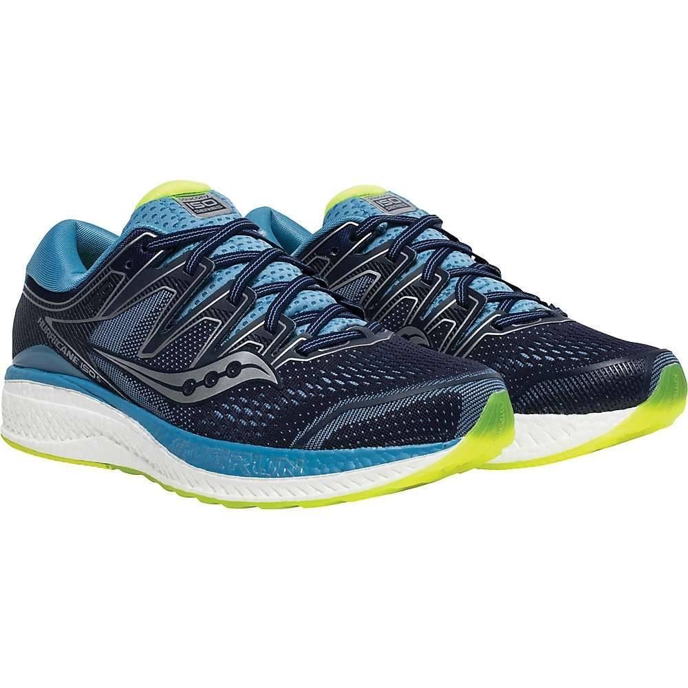 サッカニー Saucony レディース ランニング・ウォーキング シューズ・靴【Hurricane ISO 5 Shoe】Navy/CTN