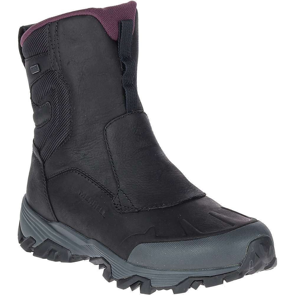 メレル Merrell レディース ハイキング・登山 シューズ・靴【Coldpack Ice+ 8IN Zip Polar Waterproof Boot】Black