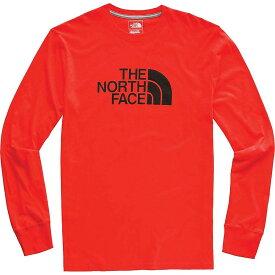 ザ ノースフェイス The North Face メンズ トップス 長袖Tシャツ【Half Dome LS Tee】Fiery Red / TNF Black