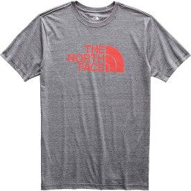 ザ ノースフェイス The North Face メンズ トップス Tシャツ【Tri-Blend Half Dome SS Tee】TNF Medium Grey Heather / Fiery Red