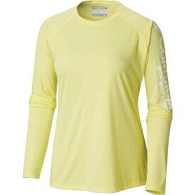 コロンビア Columbia レディース トップス 長袖Tシャツ【Tidal II LS Tee】Sunnyside / White Logo