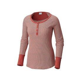 コロンビア Columbia レディース トップス 長袖Tシャツ【Along The Gorge Thermal Henley】Rose Dust