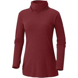 コロンビア Columbia レディース トップス 長袖Tシャツ【Take It Easy LS Tee】Garnet Red