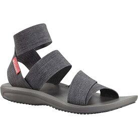 コロンビア Columbia Footwear レディース シューズ・靴 サンダル・ミュール【Columbia Barraca Strap Sandal】Dark Grey / Wild Salmon