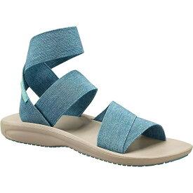 コロンビア Columbia Footwear レディース シューズ・靴 サンダル・ミュール【Columbia Barraca Strap Sandal】Canyon Blue / Napa Green