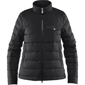 フェールラーベン Fjallraven レディース アウター ダウン・中綿ジャケット【Greenland Down Liner Jacket】Black
