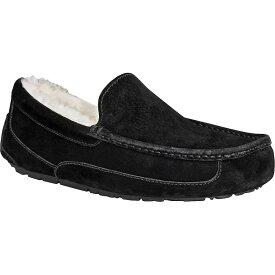アグ Ugg メンズ シューズ・靴 スリッパ【Ascot Suede Slipper】Black