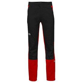 ザ ノースフェイス The North Face メンズ ボトムス・パンツ【Summit L1 Climb Pant】Fiery Red / TNF Black