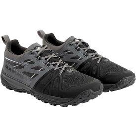 マムート Mammut メンズ ランニング・ウォーキング シューズ・靴【Saentis Low Shoe】Black / Dark Titanium
