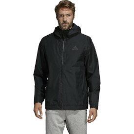 アディダス Adidas メンズ アウター レインコート【BSC Climaproof Rain Jacket】Black