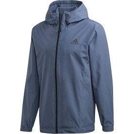 アディダス Adidas メンズ アウター レインコート【BSC Climaproof Rain Jacket】Tech Ink