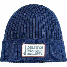マーモット Marmot ユニセックス 帽子 ニット【Retro Trucker Beanie】Arctic Navy/Black