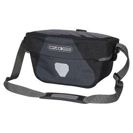 オートリービー Ortlieb ユニセックス 自転車【Ultimate6 Plus 5L Handlebar Bag】Granite/Black