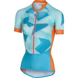 カステリ Castelli レディース 自転車 トップス【Climber's Jersey】Sky Blue/Orange Fluo