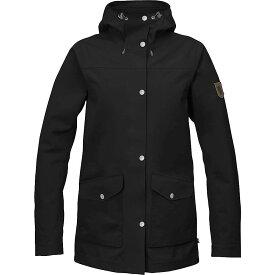 フェールラーベン Fjallraven レディース アウター ジャケット【Greenland Eco Shell Jacket】Black