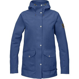 フェールラーベン Fjallraven レディース アウター ジャケット【Greenland Eco Shell Jacket】Deep Blue