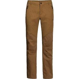 ジャックウルフスキン Jack Wolfskin メンズ ハイキング・登山 ボトムス・パンツ【Drake Flex Pant】Bark Brown