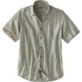 マウンテンカーキス Mountain Khakis メンズ ハイキング・登山 トップス【Spalding Gingham SS Shirt】Limeade