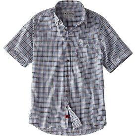 マウンテンカーキス Mountain Khakis メンズ ハイキング・登山 トップス【Spalding Gingham SS Shirt】Sky