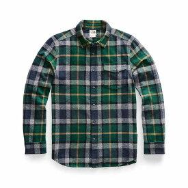 ザ ノースフェイス The North Face メンズ ハイキング・登山 トップス【Arroyo Flannel LS Shirt】Night Green Speed Wagon Plaid