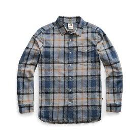 ザ ノースフェイス The North Face メンズ ハイキング・登山 トップス【Arroyo Flannel LS Shirt】Mid Grey Speed Wagon Plaid