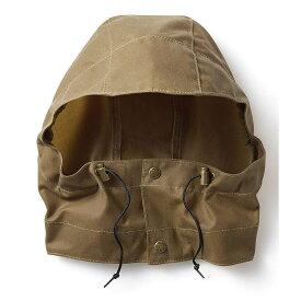 フィルソン Filson メンズ 帽子 【Tin Cloth Packer Hood】Dark Tan