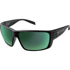 ネイティブ Native ユニセックス スポーツサングラス 【Griz Polarized Sunglasses】Matte Black/Green Reflex Polarized