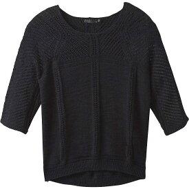 プラーナ Prana レディース ニット・セーター トップス【Getup Sweater】Black