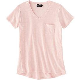 ペンドルトン Pendleton レディース Tシャツ ポケット Vネック トップス【V-Neck Pocket Cotton Tee】Chintz Rose