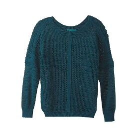 プラーナ Prana レディース ニット・セーター トップス【Sharla Sweater】Petrol Blue