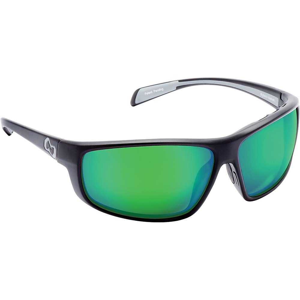 ネイティブ メンズ アクセサリー メガネ・サングラス【Native Bigfork Polarized Sunglasses】Matte Black / Green Reflex Polarized