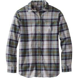 ペンドルトン Pendleton レディース ブラウス・シャツ フランネルシャツ トップス【Primary Flannel Shirt】Grey/Green Multi Plaid
