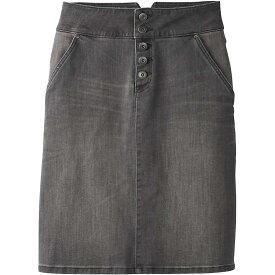 プラーナ Prana レディース スカート デニム【Aubrey Denim Skirt】Grey Denim