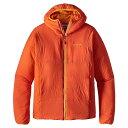 パタゴニア メンズ アウター ジャケット【Patagonia Nano-Air Hoody】Campfire Orange