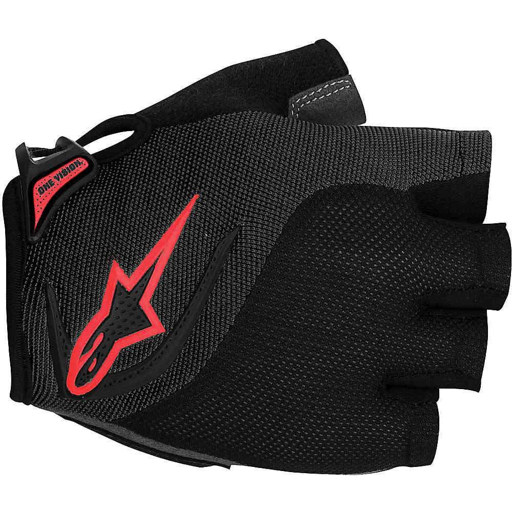 アルパインスターズ メンズ アクセサリー 手袋【Alpine Stars Pro Light Short Finger Glove】Black / Red