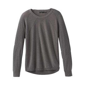 プラーナ Prana レディース ニット・セーター トップス【Avita Sweater】Coal Heather