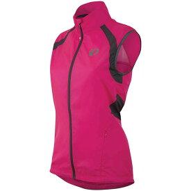 パールイズミ Pearl Izumi レディース 自転車 ベスト・ジレ トップス【ELITE Barrier Vest】Screaming Pink/Smoked Pearl