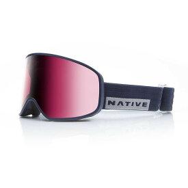 ネイティブ Native ユニセックス スキー・スノーボード ゴーグル【Tenmile Polarized Goggle】Ribbet/SnowTuned React Rose