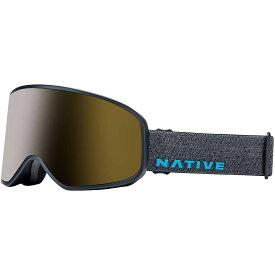 ネイティブ Native ユニセックス スキー・スノーボード ゴーグル【Tenmile Polarized Goggle】Grey Tweed/Snow Tuned Silver