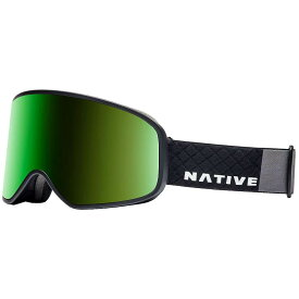 ネイティブ Native ユニセックス スキー・スノーボード ゴーグル【Tenmile Polarized Goggle】Sheepshead/SnowTuned Green