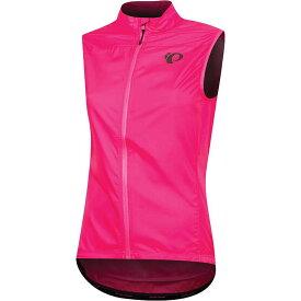 パールイズミ Pearl Izumi レディース 自転車 ベスト・ジレ トップス【Elite Escape Barrier Vest】Screaming Pink