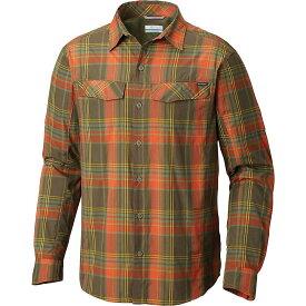 コロンビア Columbia メンズ ハイキング・登山 シャツ トップス【silver ridge plaid ls shirt】Backcountry Orange Plaid