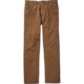 フィルソン Filson メンズ ボトムス・パンツ 【Dry Tin 5 Pocket Pant】Whiskey