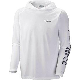 コロンビア Columbia メンズ 釣り・フィッシング トップス【terminal tackle hoodie】White/Nightshade