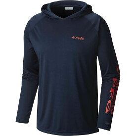コロンビア Columbia メンズ 釣り・フィッシング トップス【terminal tackle hoodie】Collegiate Navy/Sunset Red