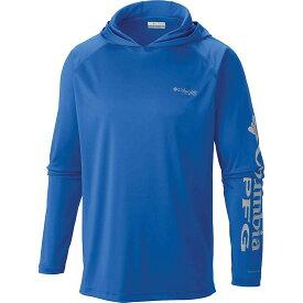 コロンビア Columbia メンズ 釣り・フィッシング トップス【terminal tackle hoodie】Vivid Blue/Cool Grey